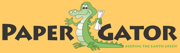 Paper Gator Recycling - Keeping the Earth Green